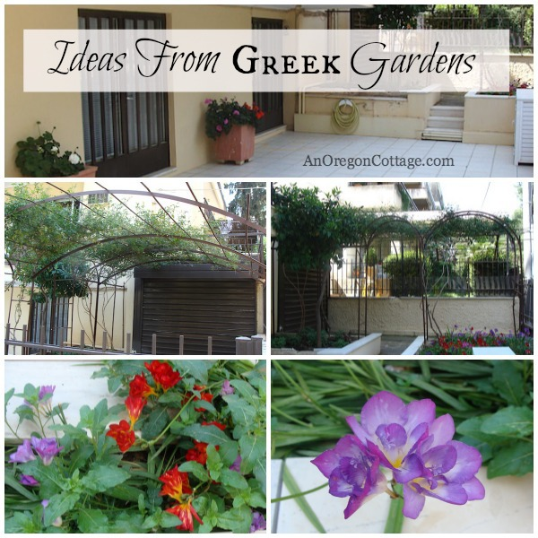 Greek Garden Ideas