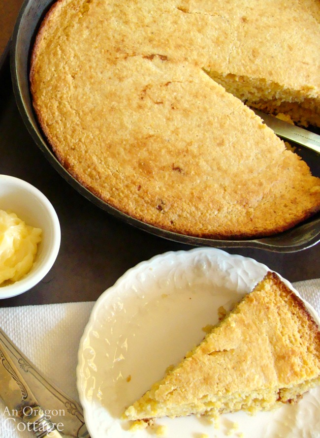 Serving Moist and Rich Cornbread