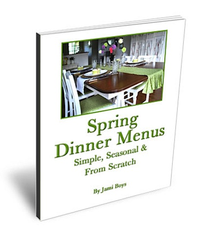 Spring-Dinner-Menus eBook cover