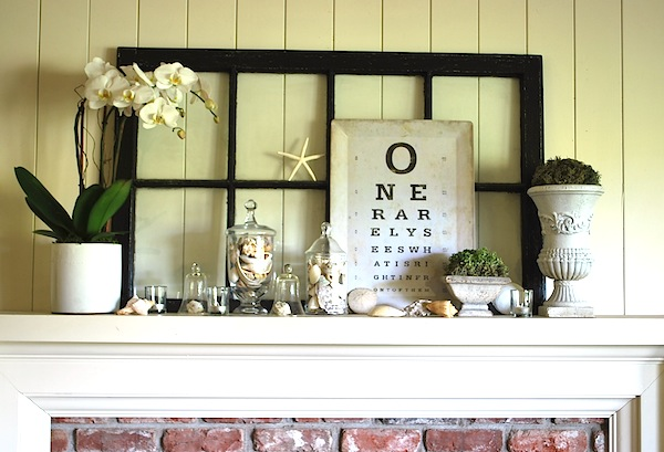 Vintage Window Into A Mirror, How To Turn Window Into Mirror