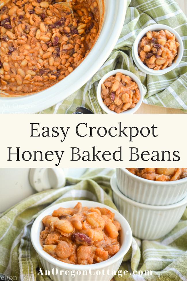 easy crockpot honey baked beans