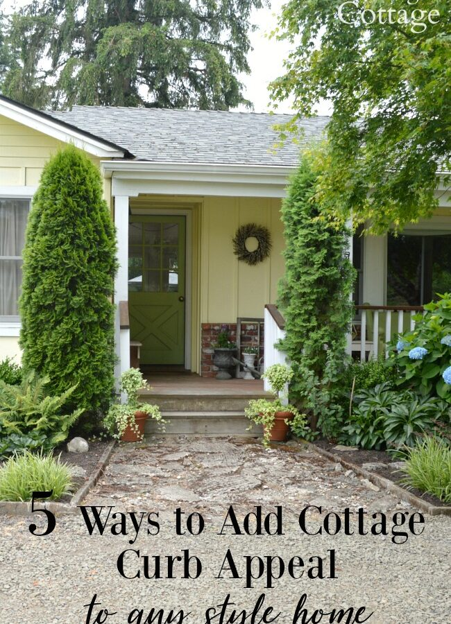 5 ways to add cottage curb appeal to any home