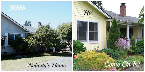 Front Garden Before-After