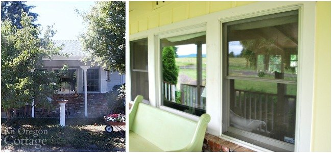 Window Molding before and after