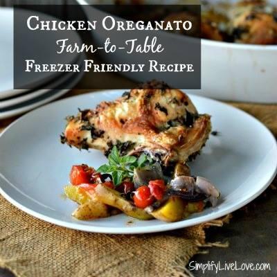 Farm-to-Table Chicken Oreganato-SimplifyLiveLove