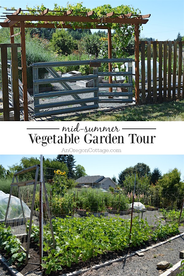 A Real Life Raised Bed Vegetable Garden Tour That Shows How Easy Gardens Are