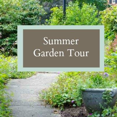 Summer Garden Tour at Hearth and Vine