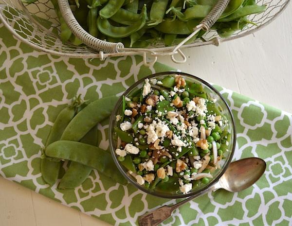Pea Salad with Feta