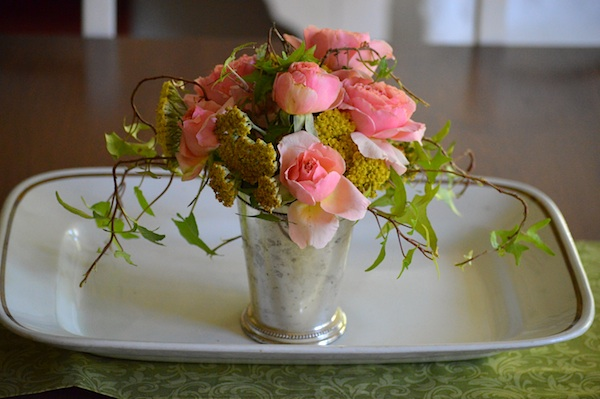 rose-yarrow bouquet