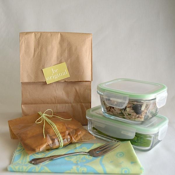 Lunchbox Greek Tuna Salad