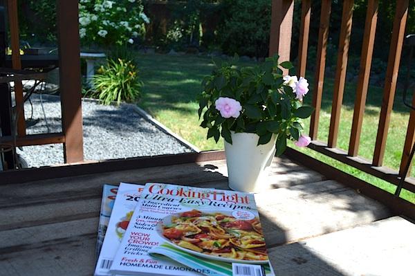 Magazines in Gazebo