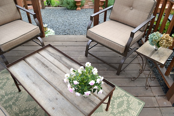 Rustic Coffee-Side Tables
