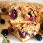 Whole Wheat Blackberry Bars