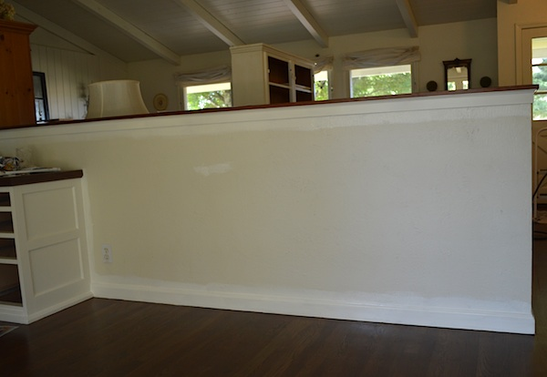 how to clean eggshell painted walls