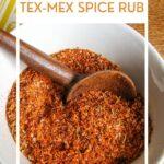 southwestern Tex-Mex spice rub