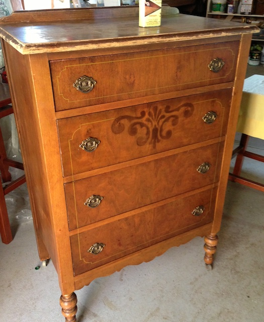 Quick Antique Dresser Restoration