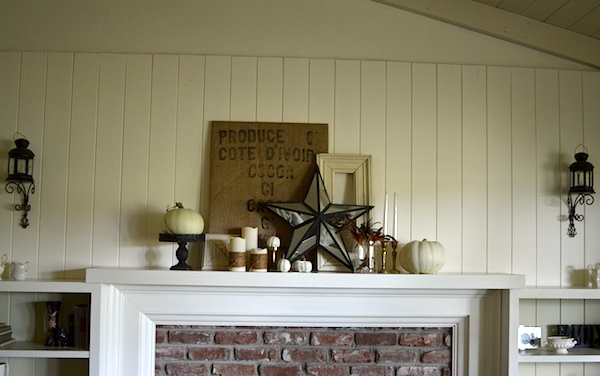 Fall 2013 Mantel Wall :: An Oregon Cottage