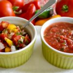 Garden Fresh Salsa-Pico de Gallo and Salsa Cruda