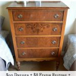 Easily Restored Antique Dresser - An Oregon Cottage