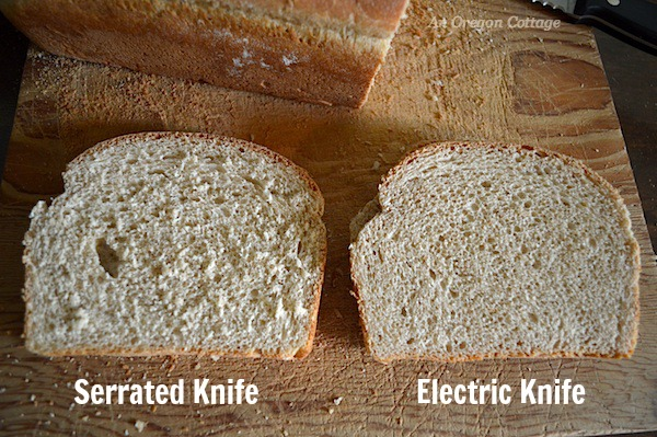 Bread-serrated-vs-electric-knives :: An Oregon Cottage
