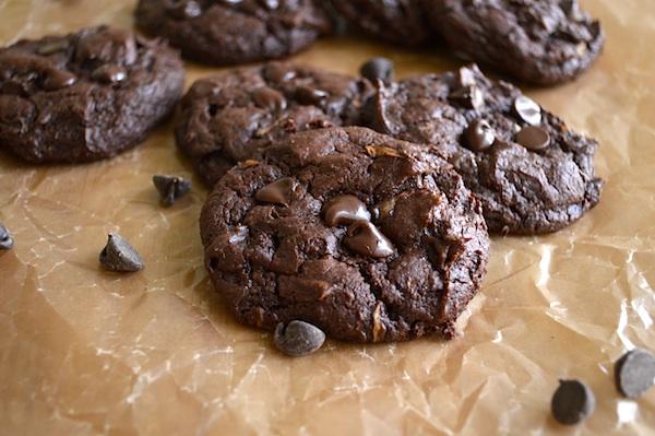 Chocolate-Fudge Zucchini Cookies :: An Oregon Cottage