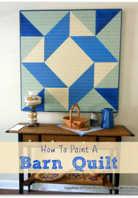 How To Paint a Barn Quilt :: An Oregon Cottage