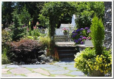Fishtail Cottage garden