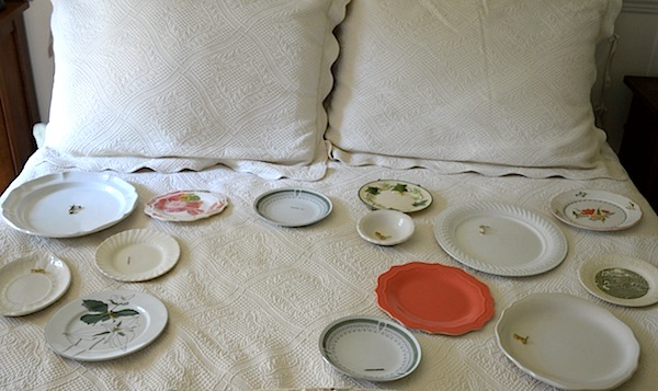 Arranging plates- An Oregon Cottage