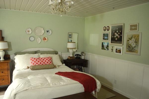 ORC Bedroom Walls-after :: An Oregon Cottage