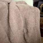 Free Knitting Patterns for Gifts-Quick Basketweave Knitted Throw