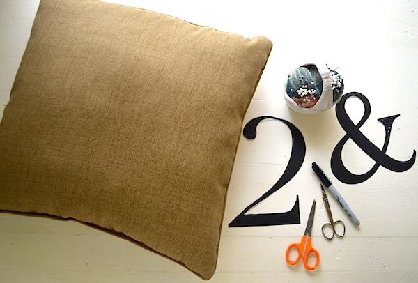 Sharpie pillow materials-An Oregon Cottage