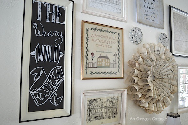 Christmas Gallery Wall Sign - An Oregon Cottage