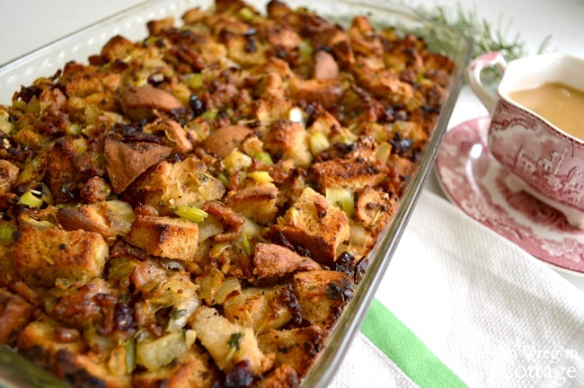 Savory & Sweet Sausage Cranberry Stuffing Dressing details