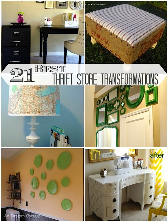 21 Of The Best Thrift Store Transformations Around - An Oregon Cottage