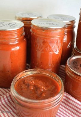 Perfect Homemade Canned Pizza Sauce