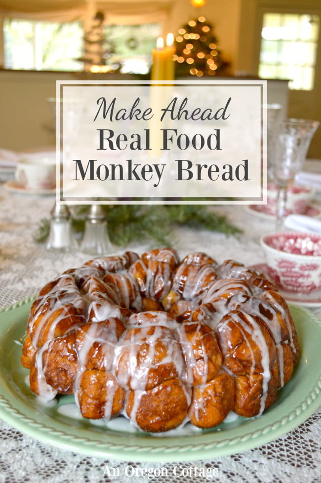 Real Food Overnight Make Ahead Monkey Bread