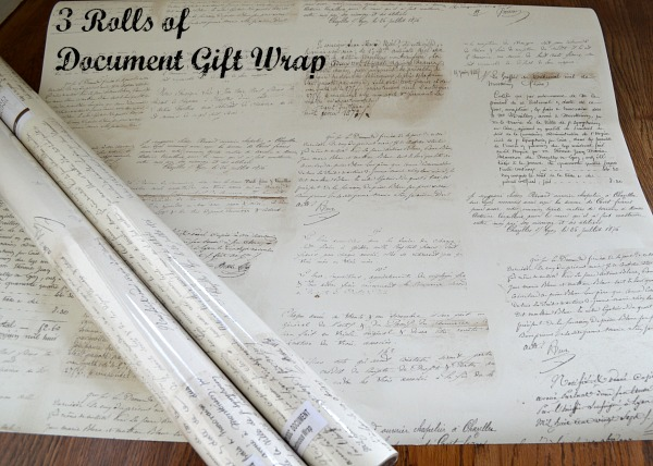 Document Gift Wrap - An Oregon Cottage