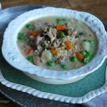 Nourishing Creamy Turkey Rice Soup - An Oregon Cottage