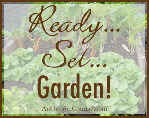 Ready Set Garden - Garden Basics at An Oregon Cottage