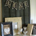 Vintage Valentine Mantel: Quick Decor