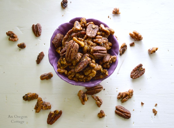 15-Minute Spiced Nuts - An Oregon Cottage