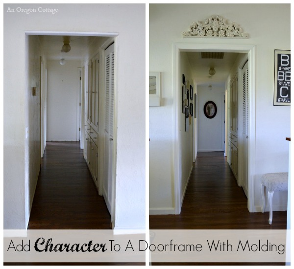 Add Character To A Doorframe With Molding An Oregon Cottage