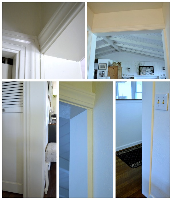 Adding Character To a Doorframe with Molding - Inside View - An Oregon Cottage
