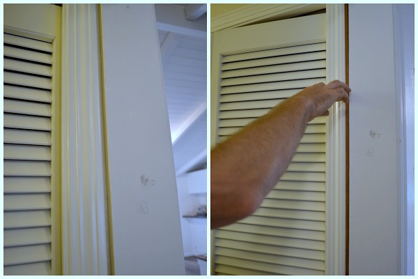 Add old house character with easy diy door trim for Door gap filler