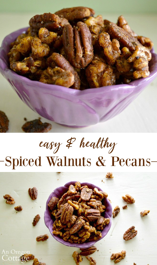 Easy-Healthy Spiced Nuts