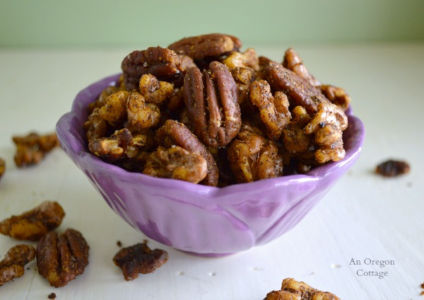 Easy Spiced Nuts - An Oregon Cottage