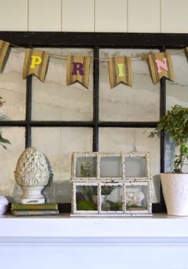 Eclectic 2014 Spring Mantel - An Oregon Cottage