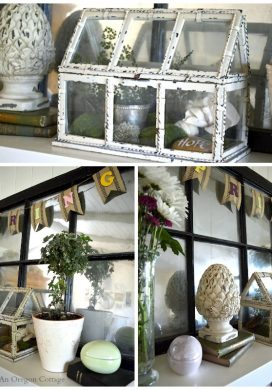Eclectic Spring Mantel Views - An Oregon Cottage