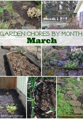 Garden Chores By Month: March
