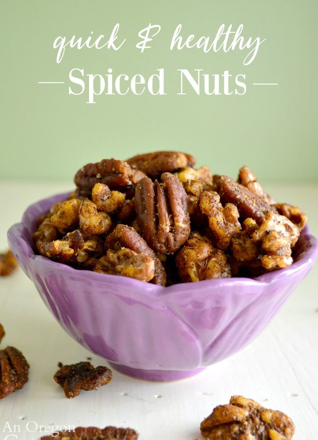 Quick-Healthy Spiced Nuts